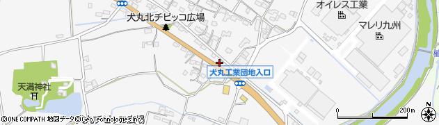 大分県中津市犬丸657周辺の地図
