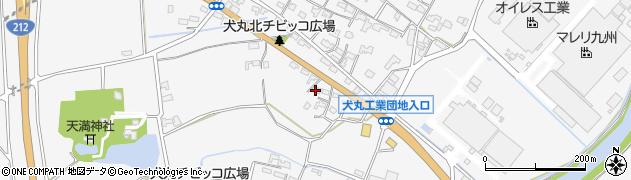 大分県中津市犬丸667周辺の地図