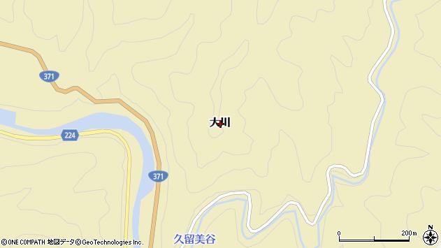 〒649-4451 和歌山県東牟婁郡古座川町大川の地図