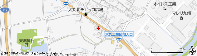 大分県中津市犬丸669周辺の地図