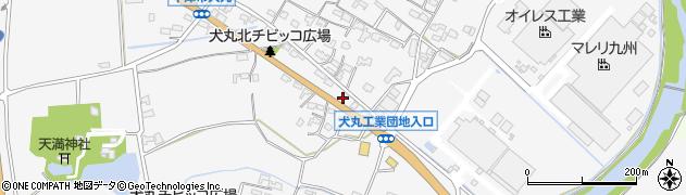 大分県中津市犬丸658周辺の地図