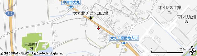 大分県中津市犬丸678周辺の地図