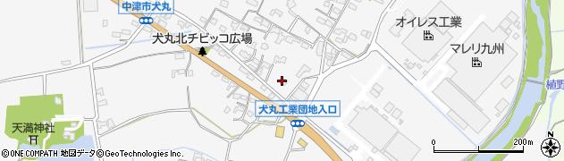 大分県中津市犬丸639周辺の地図