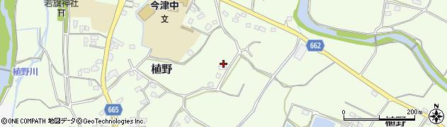 大分県中津市植野1843周辺の地図