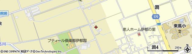 福岡県糸島市浦志周辺の地図