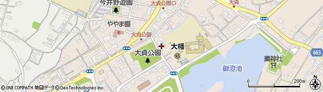 大分県中津市大貞281周辺の地図