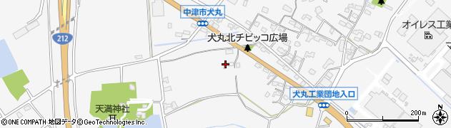 大分県中津市犬丸1455周辺の地図