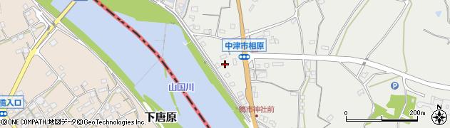 大分県中津市相原3270周辺の地図