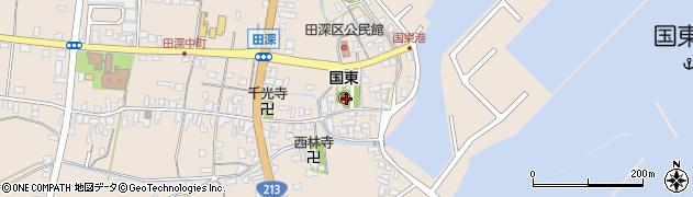 大分県国東市国東町田深1665周辺の地図