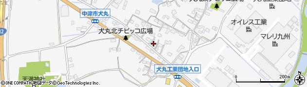 大分県中津市犬丸634周辺の地図