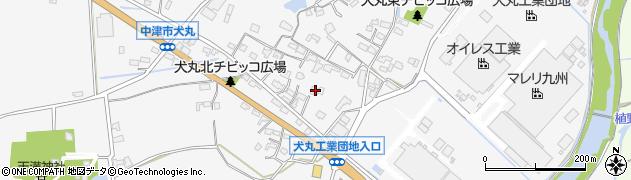 大分県中津市犬丸641周辺の地図