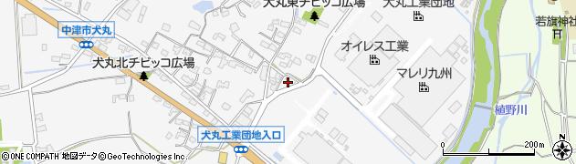 大分県中津市犬丸240周辺の地図