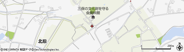大分県中津市北原98周辺の地図