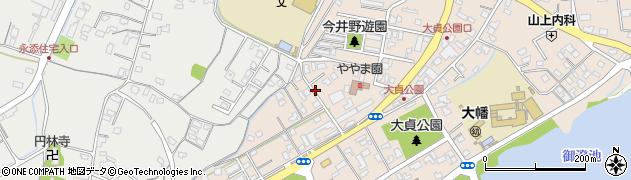 大分県中津市大貞周辺の地図