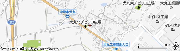 大分県中津市犬丸697周辺の地図
