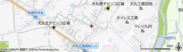 大分県中津市犬丸586周辺の地図