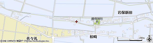 大分県宇佐市岩保新田周辺の地図