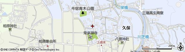 福岡県福岡市西区今宿青木周辺の地図