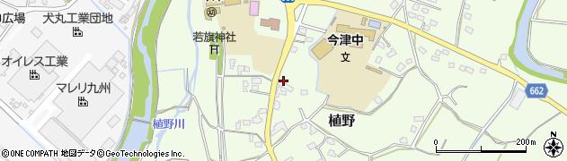 大分県中津市植野1950周辺の地図