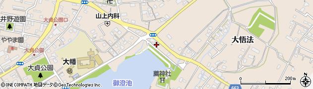 大分県中津市大貞216周辺の地図