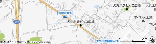 大分県中津市犬丸695周辺の地図