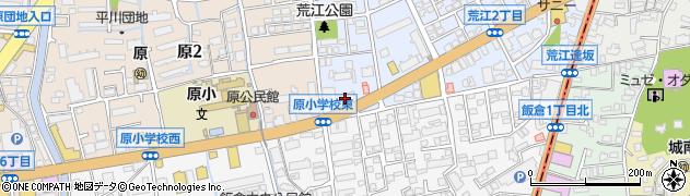ジャノメミシン工業株式会社 直営福岡支店周辺の地図