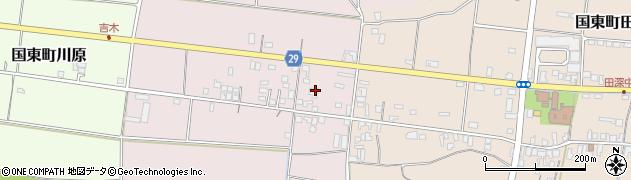大分県国東市国東町北江239周辺の地図