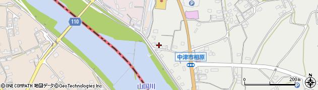 大分県中津市相原3289周辺の地図
