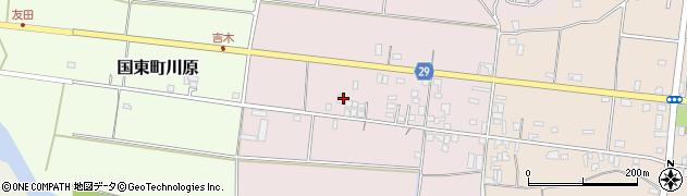 大分県国東市国東町北江90周辺の地図