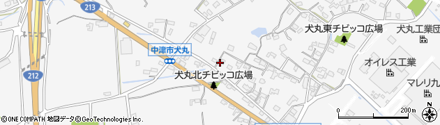 大分県中津市犬丸619周辺の地図