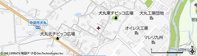 大分県中津市犬丸577周辺の地図