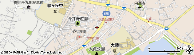 大分県中津市大貞311周辺の地図