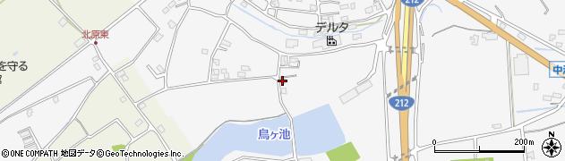 大分県中津市犬丸2303周辺の地図