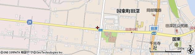 大分県国東市国東町田深838周辺の地図