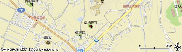 荒穂神社周辺の地図