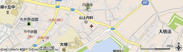 大分県中津市大貞247周辺の地図