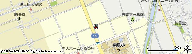 福岡県糸島市潤周辺の地図