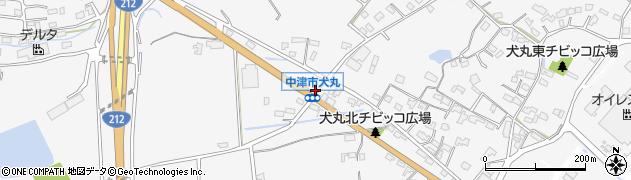 大分県中津市犬丸1695周辺の地図