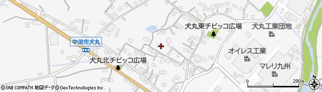 大分県中津市犬丸565周辺の地図