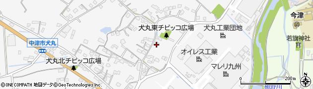 大分県中津市犬丸292周辺の地図
