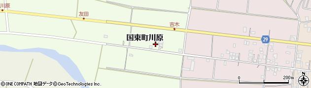 大分県国東市国東町川原895周辺の地図