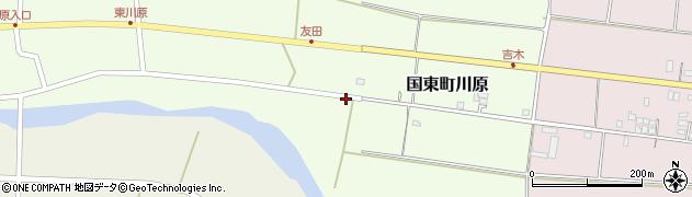 大分県国東市国東町川原827周辺の地図