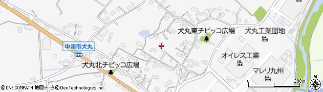 大分県中津市犬丸570周辺の地図