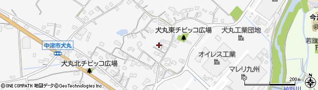 大分県中津市犬丸574周辺の地図