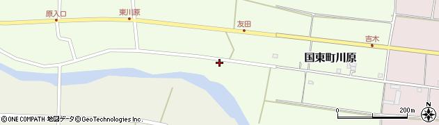 大分県国東市国東町川原751周辺の地図