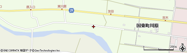 大分県国東市国東町川原748周辺の地図