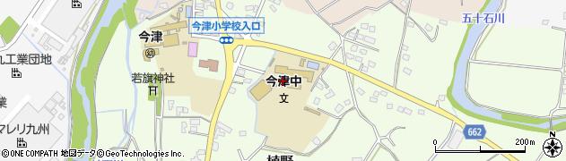 大分県中津市植野1889周辺の地図