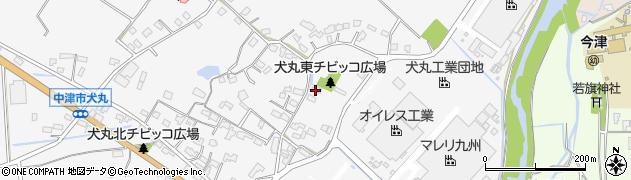 大分県中津市犬丸294周辺の地図