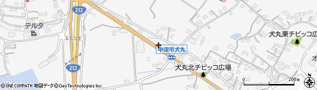 大分県中津市犬丸1694周辺の地図