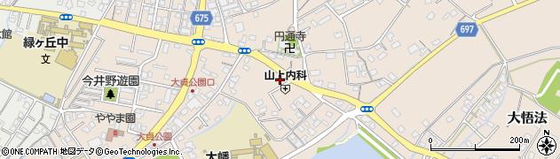 大分県中津市大貞254周辺の地図
